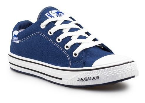 zapatillas jaguar oficial de lona con puntera art. # 320  hombre y mujer
