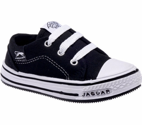 zapatillas jaguar para chicos de lona colegio