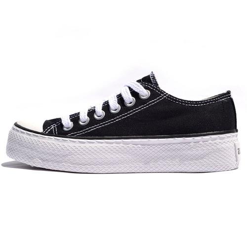 zapatillas john foos 752 negro plataforma tienda oficial