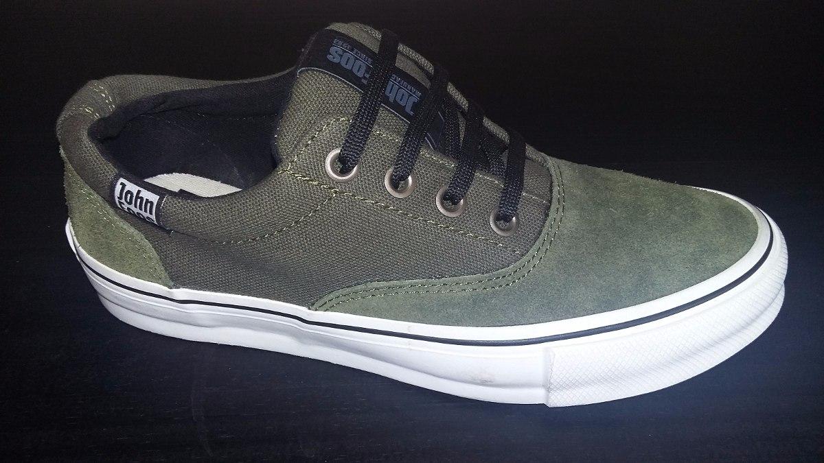 Zapatillas John Foos Suede Green Originales
