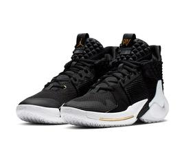 ahorrar reloj revisa Zapatillas Jordan Nike Negras W.not Basquet 2019 Originales