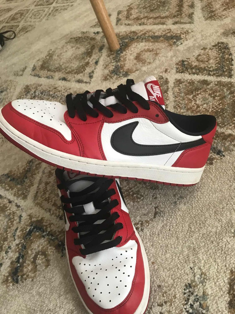 Zapatillas Jordan Retro 1 Chicago Low Originales -   60.000 en ... 5ed42544d3f42