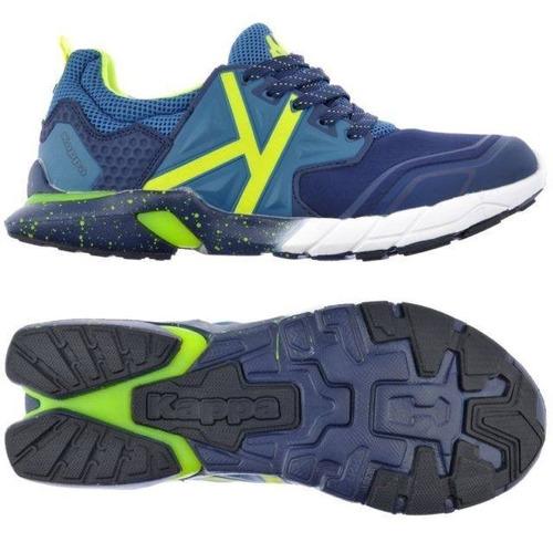 zapatillas kappa crossfit hombre  kombat system 0006-blue oc