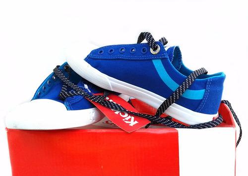 zapatillas kickers para niños de tela con puntera reforzada