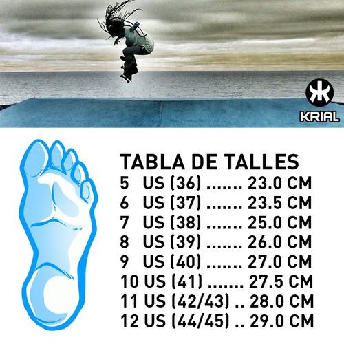 zapatillas krial skate hombre