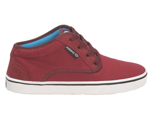 zapatillas krial tom bordo 1803 skate hombre