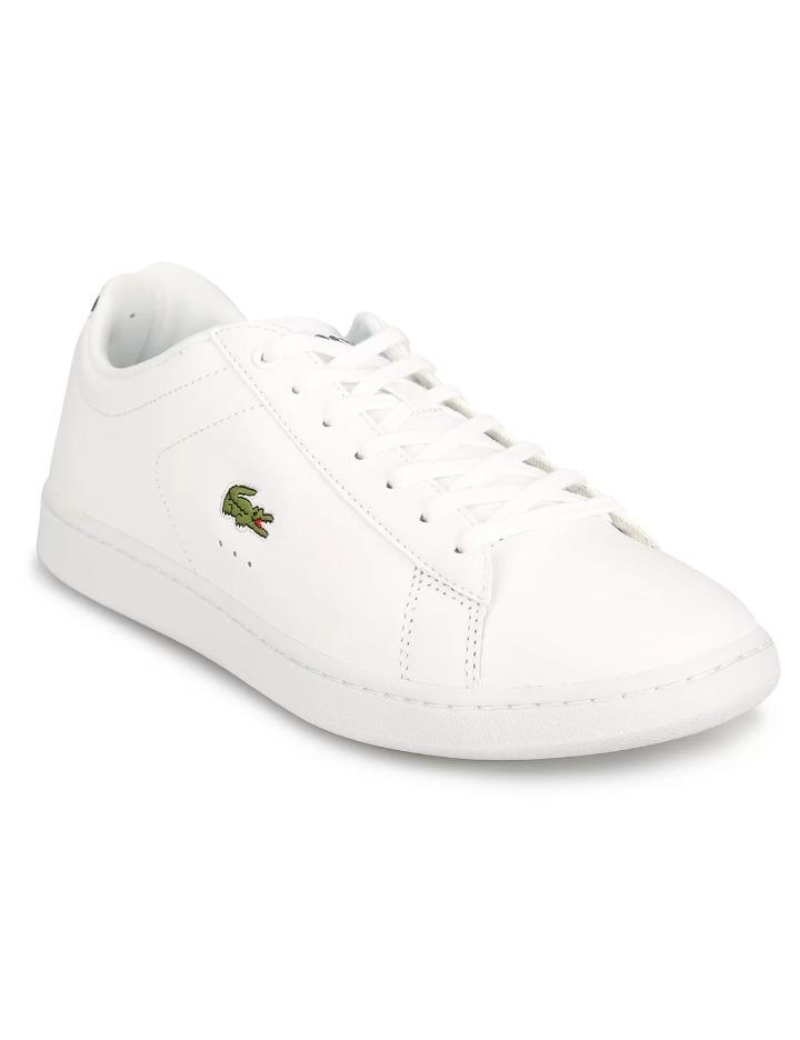 e6cd21ee55e Zapatillas Lacoste Blancas Carnaby Evo Bl 1 - $ 3.750,00 en Mercado ...