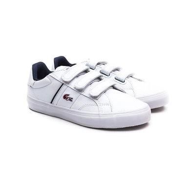 db2aaf80a88fe Zapatillas Lacoste Niños Fairlead Ww Cuero Velcro  Brand -   1.099 ...