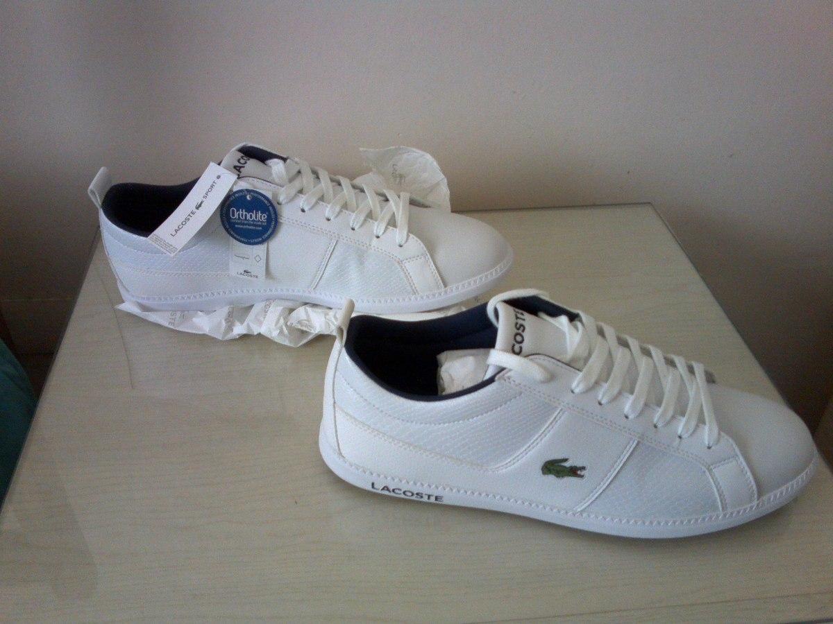 de1a9958f Zapatillas Lacoste Sport Ortholite Blanca