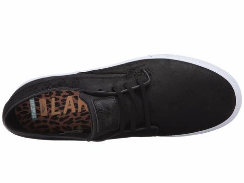 zapatillas lakai modelo riley hawk black oiled suede