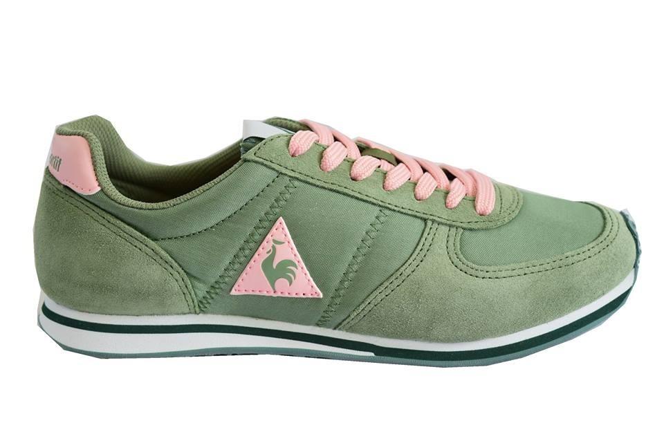 265a7a6a206f zapatillas le coq sportif bolivar nylon mujer verde comb. Cargando zoom.