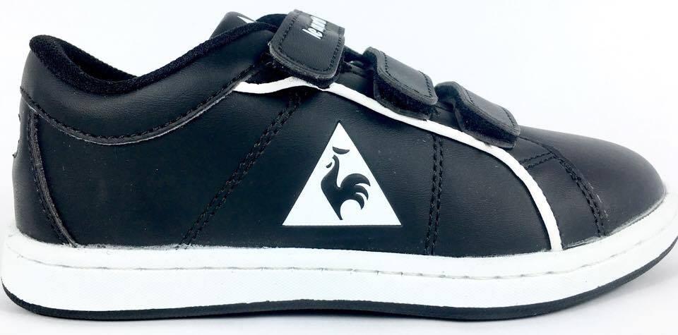 d8594984bfccd zapatillas le coq sportif dallas negras niños niñas nuevo. Cargando zoom.