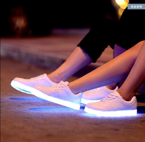 zapatillas led!! modelo classic y recargable t.35/45