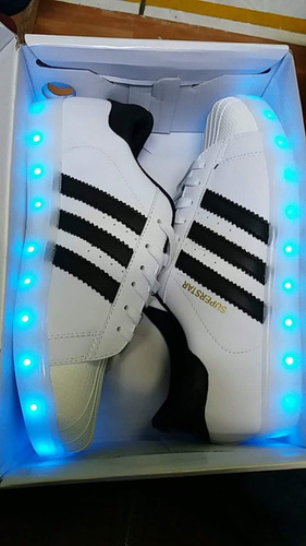 zapatillas led superstar