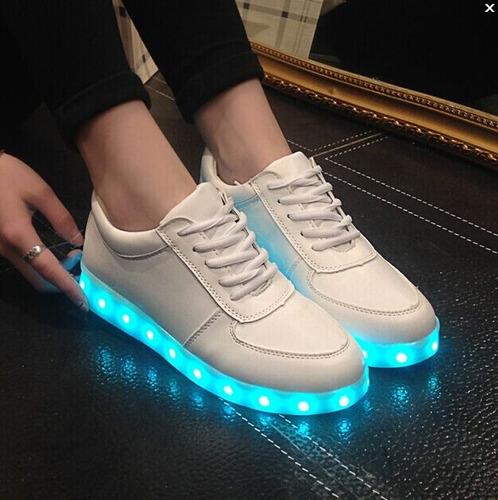 zapatillas led unisex (entrega inmediata y es contraentrega)