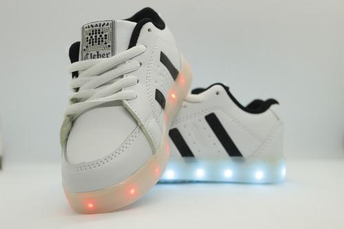zapatillas led unixes 10 colores led 5 colores recargables