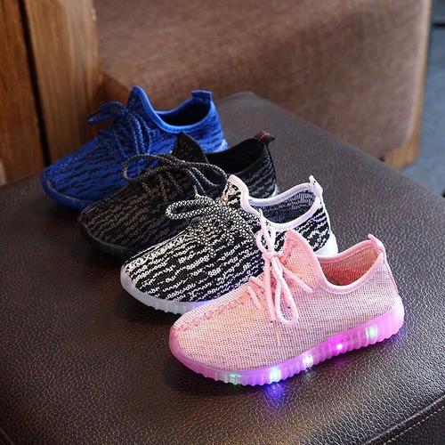 zapatillas leds unisex niños y niñas a ( pedido )