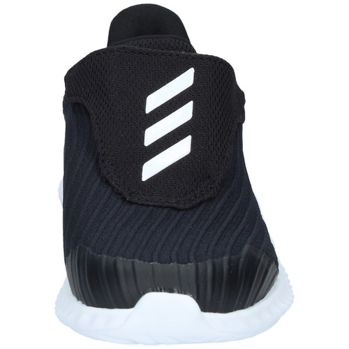 zapatillas lifestyle adidas niños fortarun negra-blanca-2048