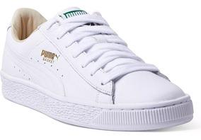 puma zapatillas hombre blancas