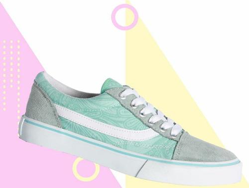 zapatillas lona *south1* mujer ,chicos, skate estilo vans.