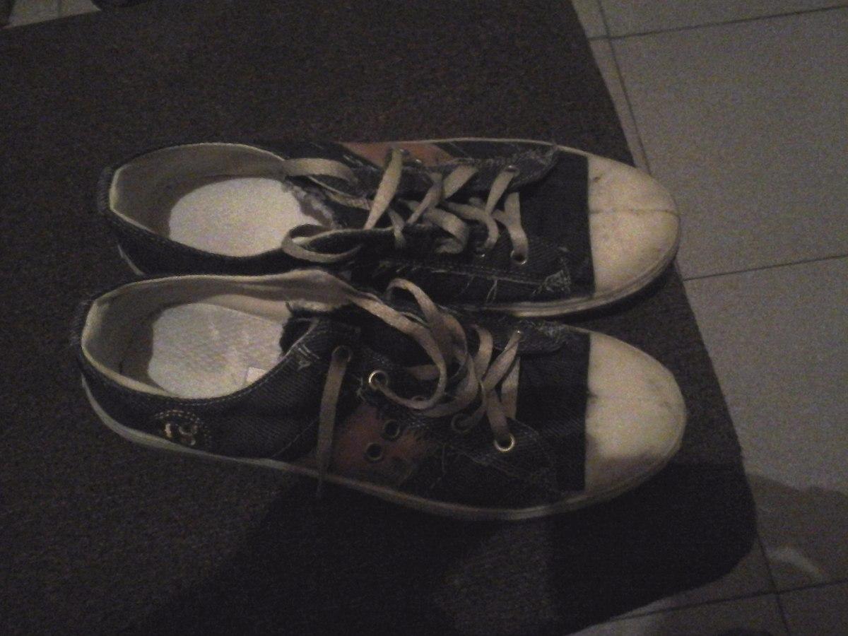 9e573cba Zapatillas Lona Tipo Jeans Excelentes Baratas 42 - $ 400,00 en ...