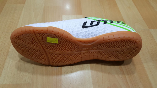 zapatillas lotto futbol lisas (futsal) - new originales