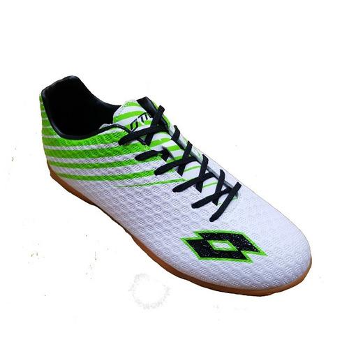 zapatillas lotto futbol lisas (futsal) - new originales
