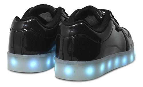 zapatillas luces leds jaguar 4010