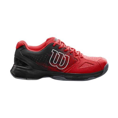 zapatillas masculina wilson - kaos stroke m rojo/negro - ten