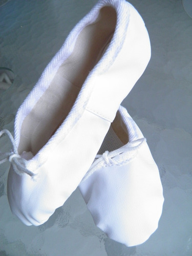 zapatillas media punta badanas blanco negro rosa soko