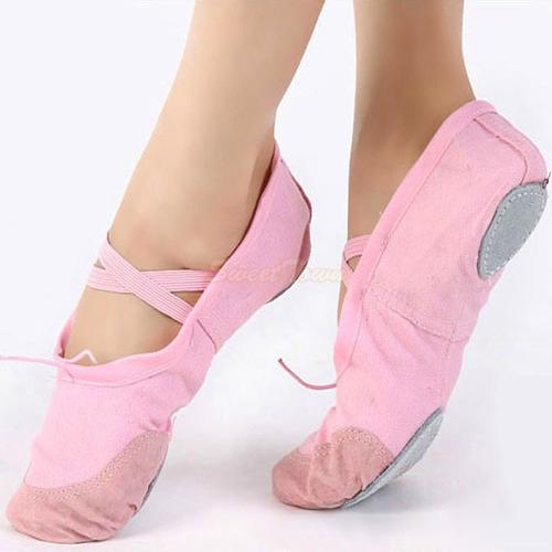 zapatillas media punta para ballet importadas punta de cuero