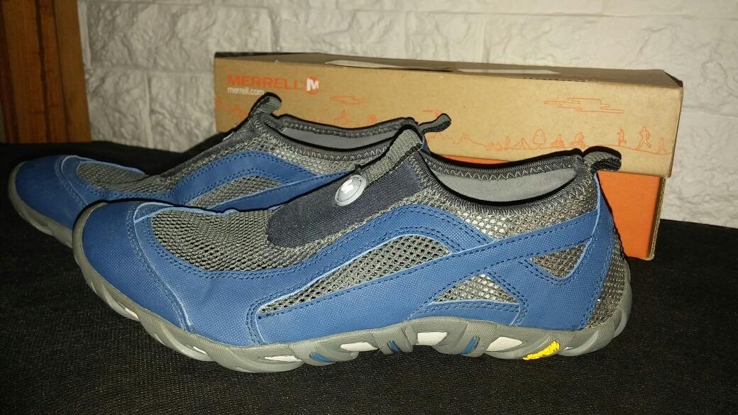 diseño de calidad 2b20e 0fa14 Zapatillas Merrell Naúticas Sin Cordones