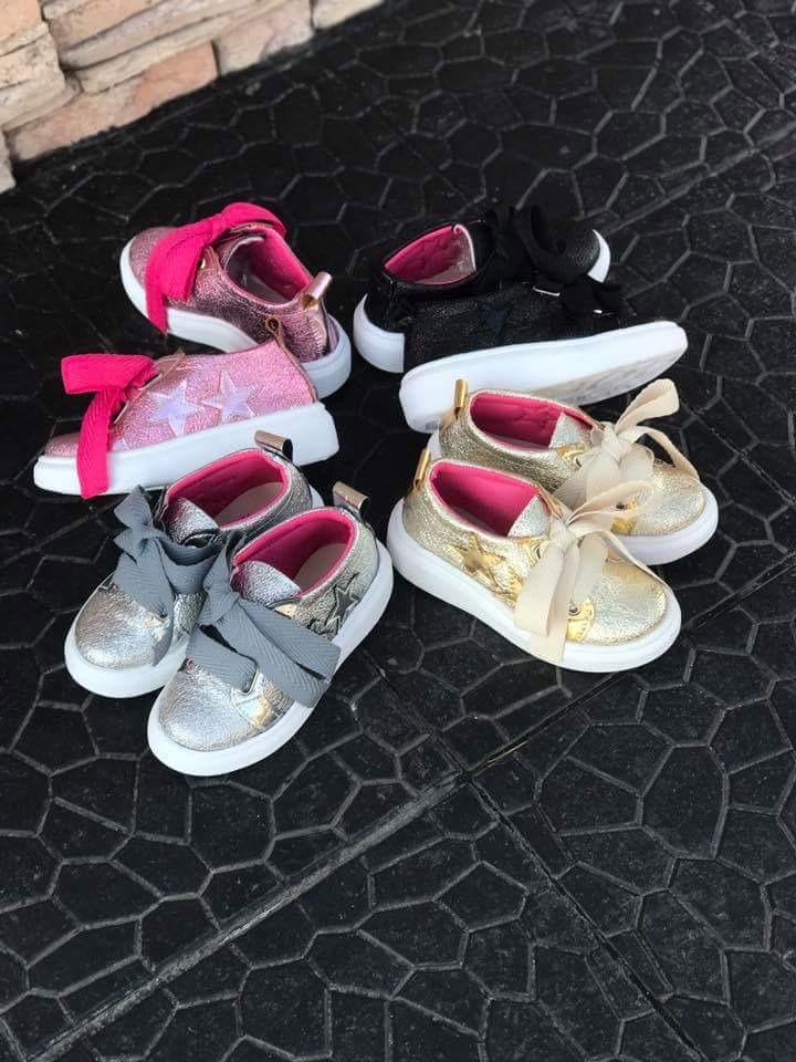 c9b803c87 zapatillas metalizadas para niña primavera verano 17 18. Cargando zoom.