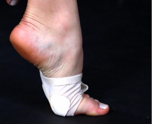 zapatillas metatarsianas danza elastizadas talles 35 a 39