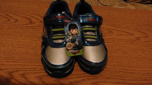 zapatillas miles del mañana n°27 con luces