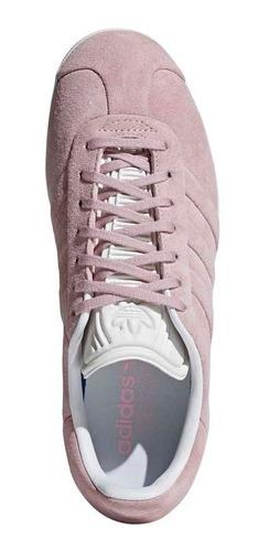 adidas Gazelle Stitch & Turn in Wonder Pink   HYPEBAE