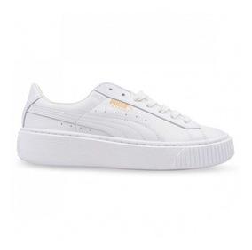 zapatillas puma de mujer blancas