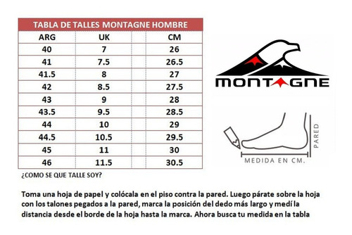 zapatillas montagne hombres urban ecoalps negro - 102744hm