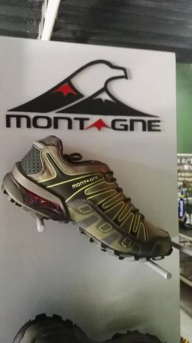 zapatillas montagne makalu hombre. oferta hasta agotar stock