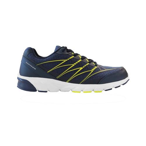 zapatillas montagne running action -azul