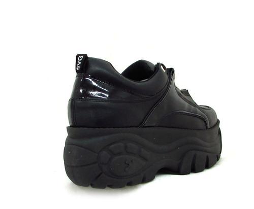 zapatillas mujer acordonadas plataformas moda 2019art bf-200
