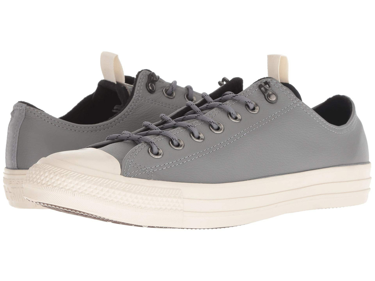 leather converse mujer ox