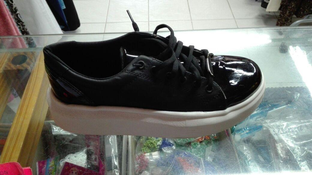 diseñador de moda 85a08 e9af7 Zapatillas Mujer Cordones Cintas Ecocuero Negras Doradas Cel