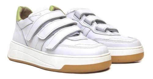 zapatillas mujer cuero moda heyas holimpia 20