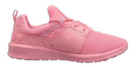 zapatillas mujer dc heathrow rosa unilite gym running riders
