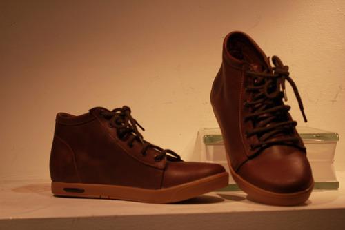 zapatillas mujer de cuero