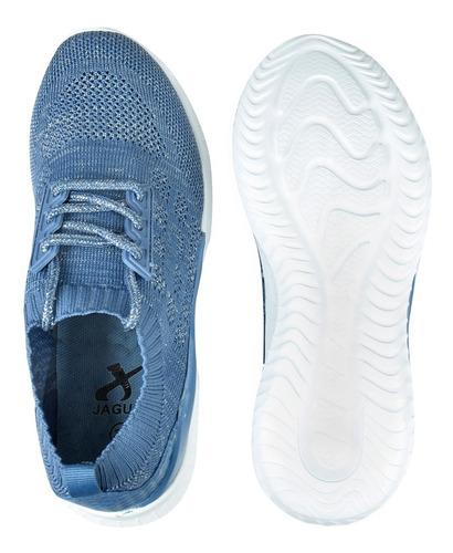 zapatillas mujer deportivas elastizadas cuello jaguar (9041)