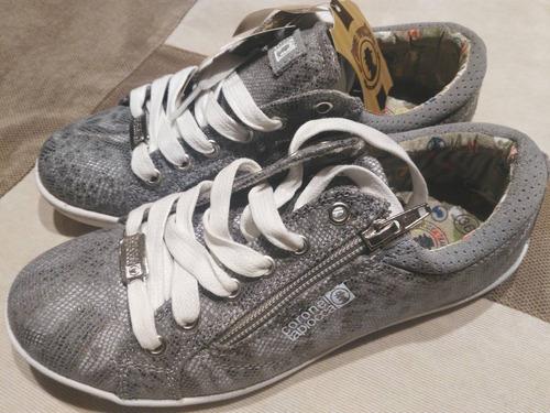 zapatillas mujer livianas importadas cuero