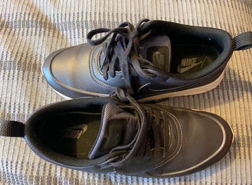 zapatillas mujer nike air max thea negro metalizado