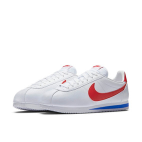 zapatillas nike blancas y rojas